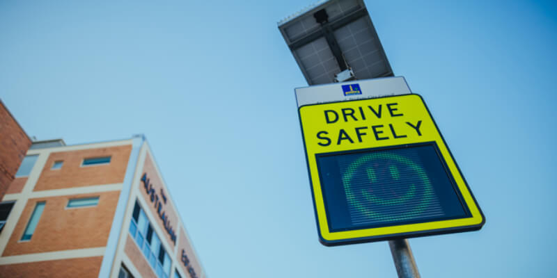 drive safety sign