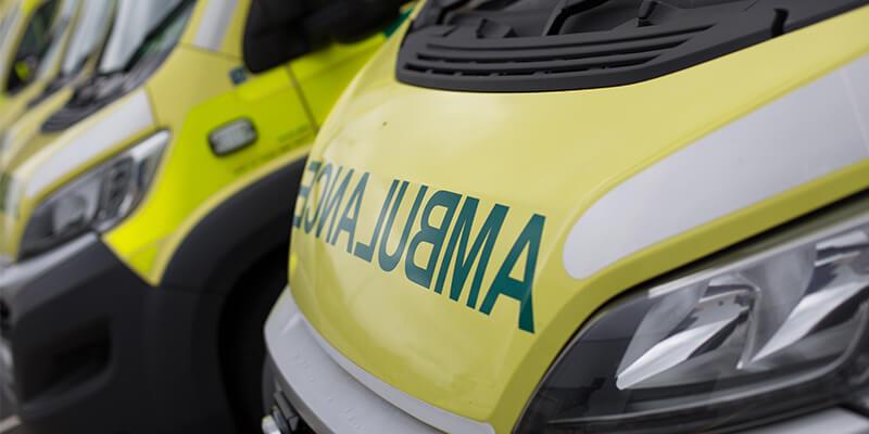 ambulance close up