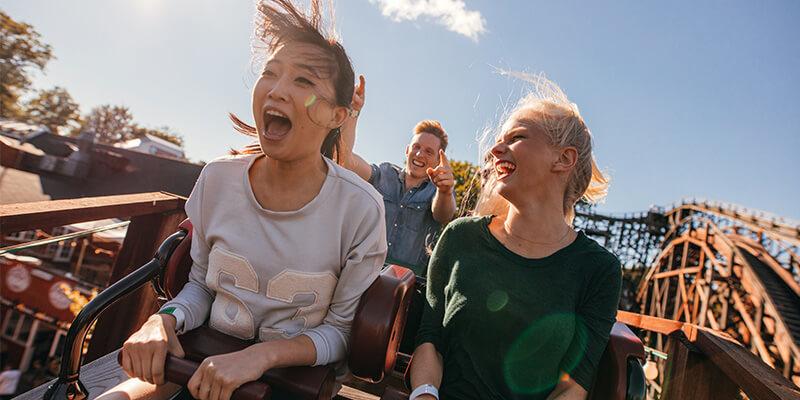 Friends On A Rollercoaster