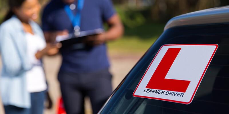 learner driver sticker on car