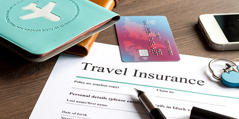 travel insurance with travel essentials