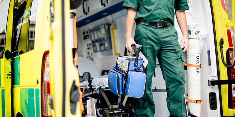 Qualified paramedic
