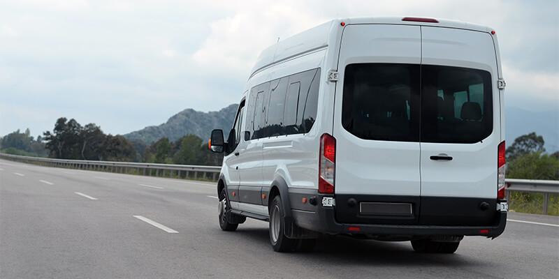 Driving Minibus