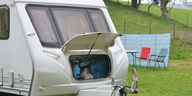 packing caravan